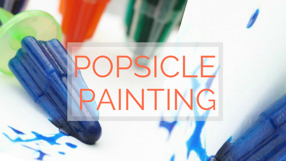 popsicle painting